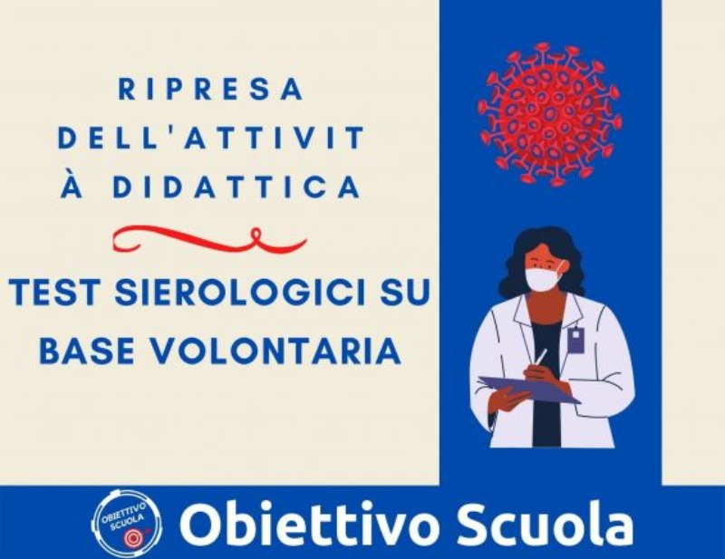 Scuola- Parte lo Screening Tamponi antigenici s...